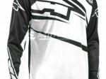 Motokrosový dres AXO SR Jersey èerno-bílý