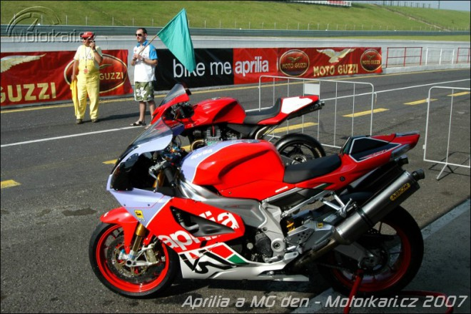 Aprilia a MG den Most 2007