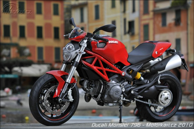 Nový Monster 796 od Ducati