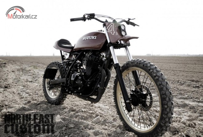 North East Custom - Suzuki DR 600 Scrambler