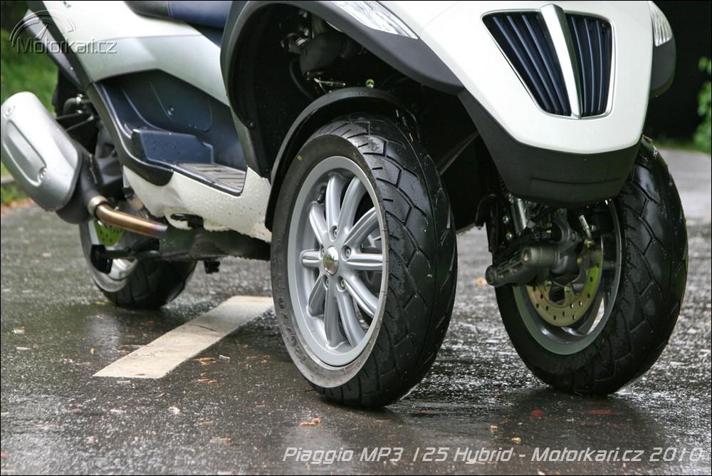 piaggio mp3 125 hybrid | motorkáři.cz