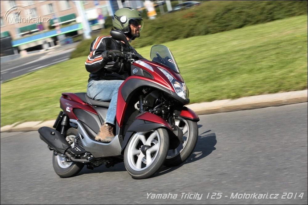 yamaha tricity 125 nejlevn j t kolka motork. Black Bedroom Furniture Sets. Home Design Ideas