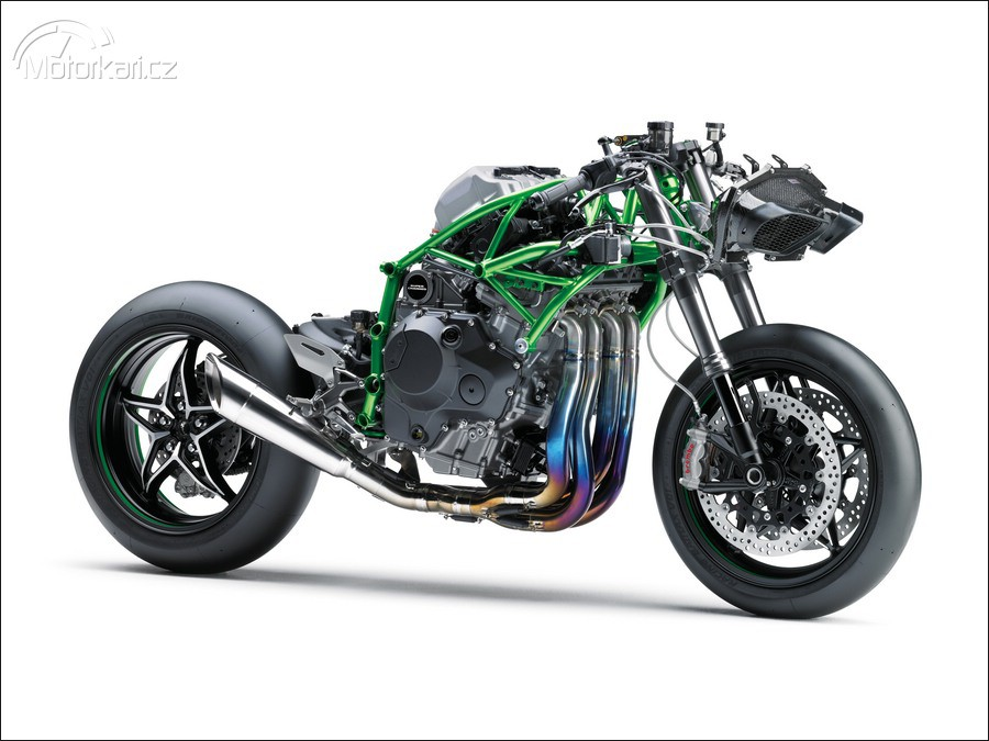 kawasaki ninja h2r turbo mega super bike motork. Black Bedroom Furniture Sets. Home Design Ideas