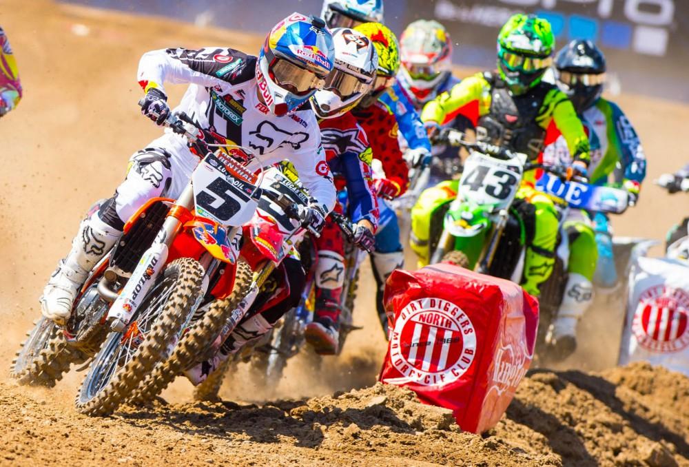 Motocross Amateur: Carrera Ax100 -