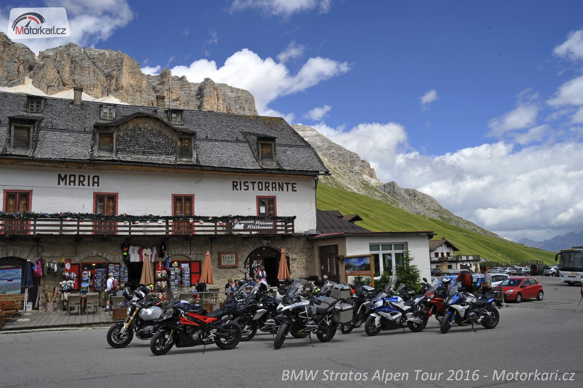 Stratos Alpen Tour Italsk Dolomity S Bmw Motorrad