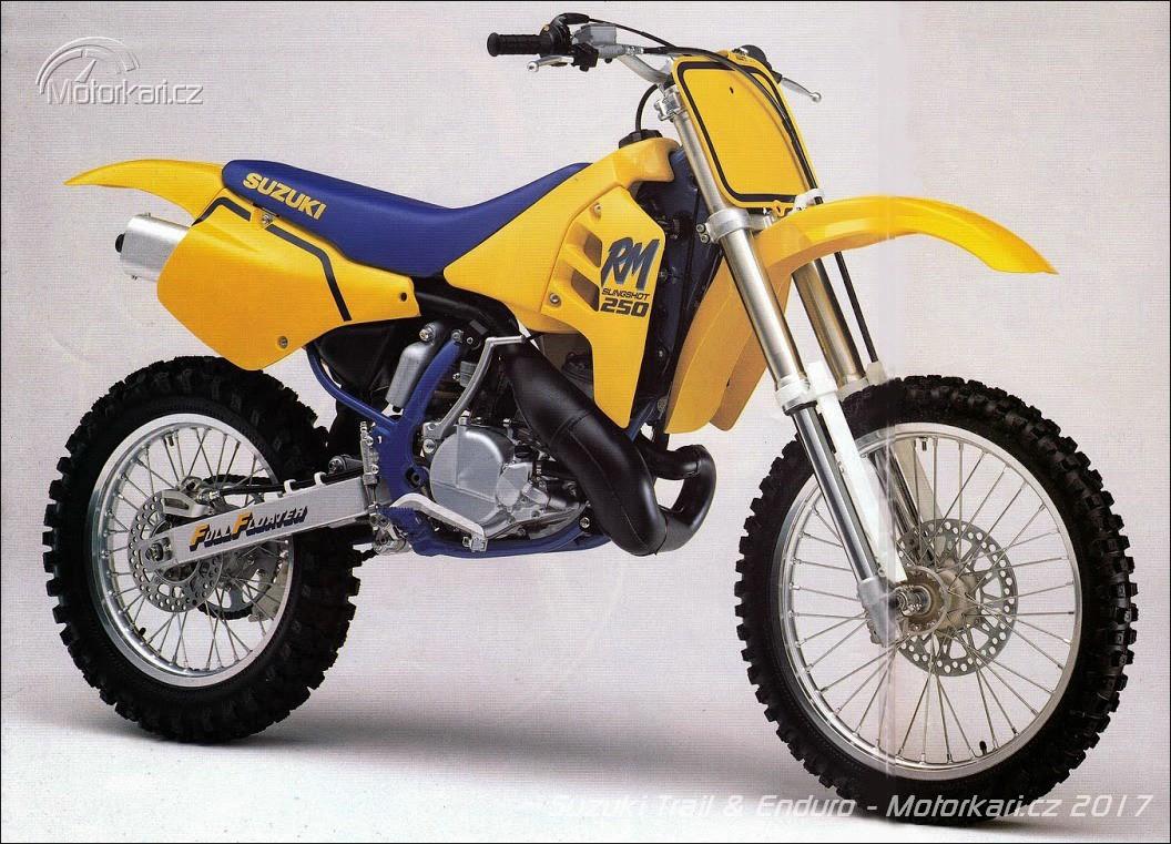 Pokračování Motocykly Suzuki kategorie off-road a enduro