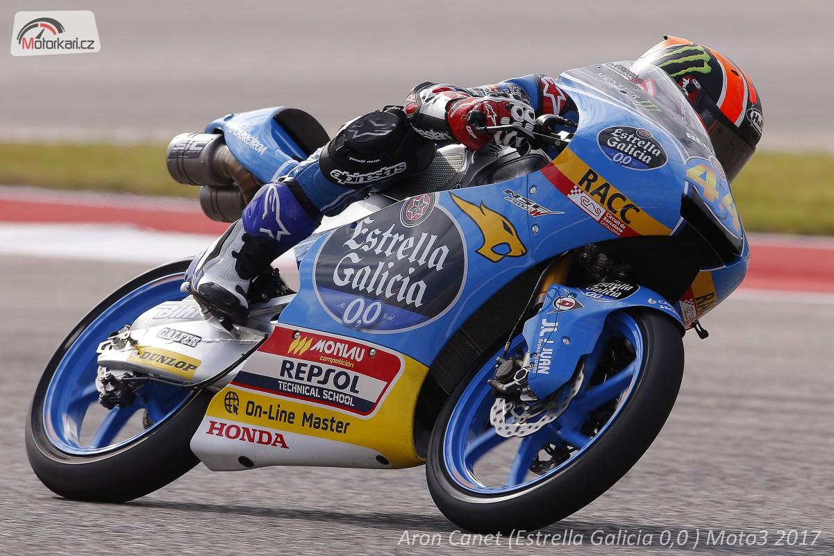 Kvalifikace - Moto3 GP Texasu Pole position slav Mrquez, Morbidelli a Canet   Mo
