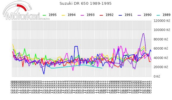 Suzuki DR 650 1989-1995
