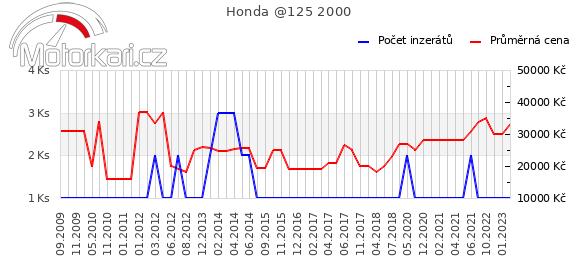 Honda @125 2000