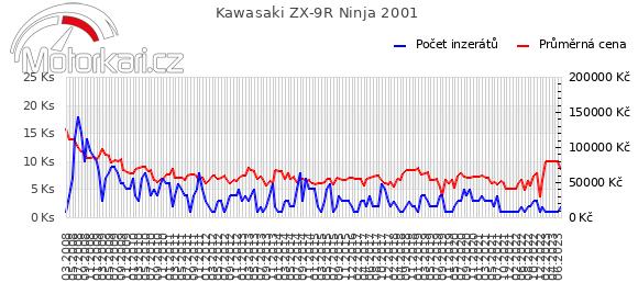 Kawasaki ZX-9R Ninja 2001