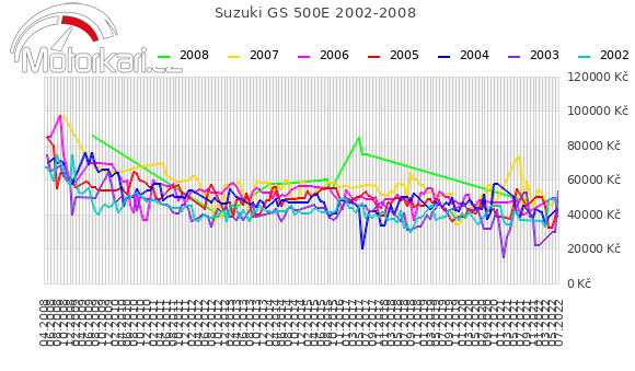 Suzuki GS 500E 2002-2008