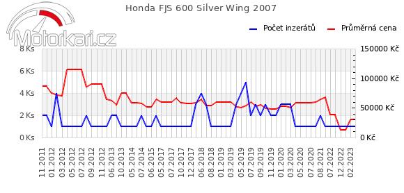 Honda FJS 600 Silver Wing 2007