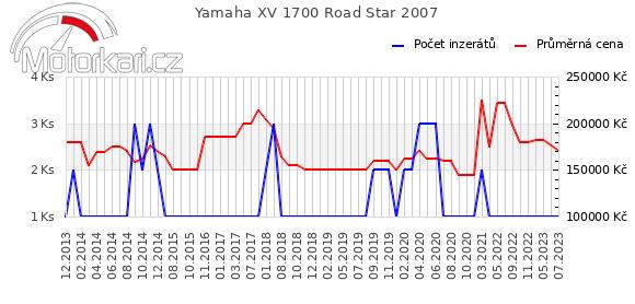 Yamaha XV 1700 Road Star 2007