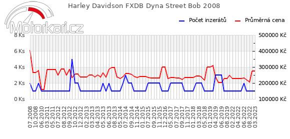 Harley Davidson FXDB Dyna Street Bob 2008