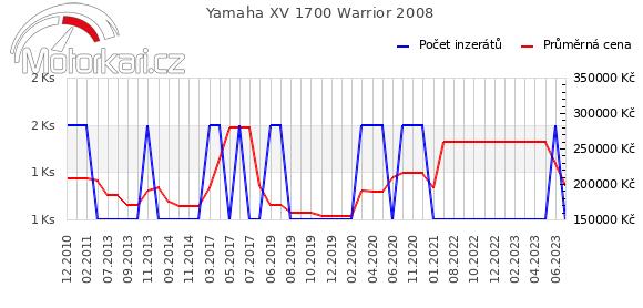 Yamaha XV 1700 Warrior 2008