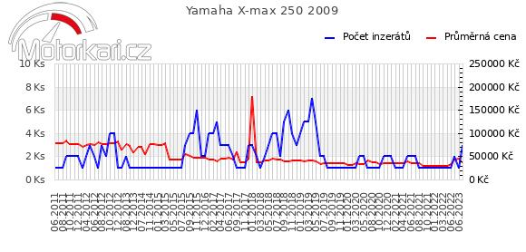 Yamaha X-max 250 2009