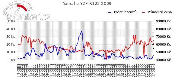 Yamaha YZF-R125 2009