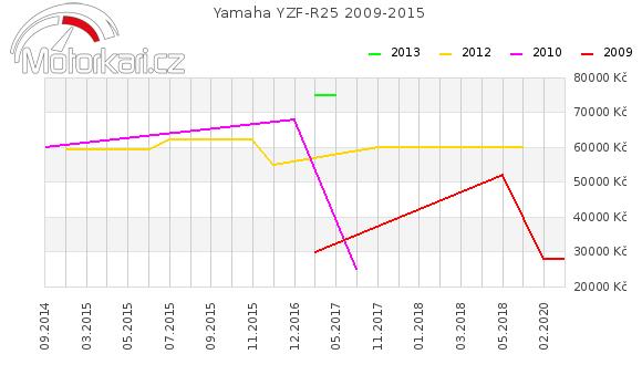 Yamaha YZF-R25 2009-2015