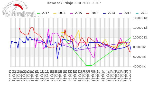 Kawasaki Ninja 300 2011-2017