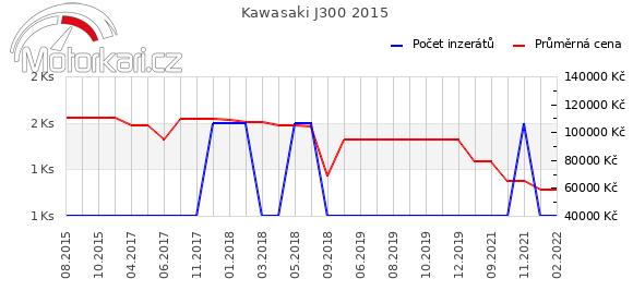 Kawasaki J300 2015