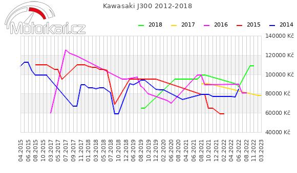 Kawasaki J300 2012-2018