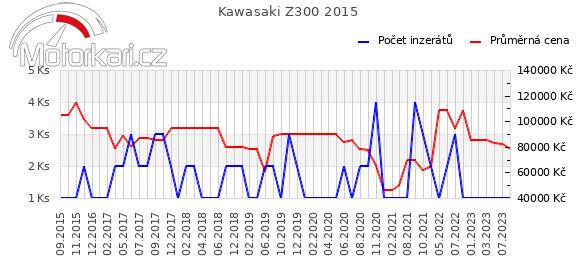 Kawasaki Z300 2015