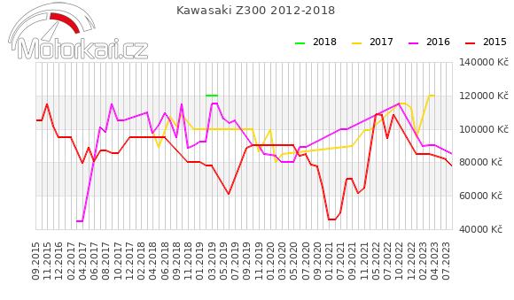 Kawasaki Z300 2012-2018