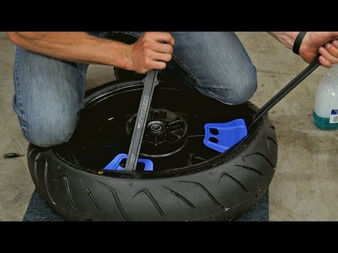 Motorcycle Tire Installation Near Me >> How To Change Balance Your Own Motorcycle Tires Mc Garage Youtube