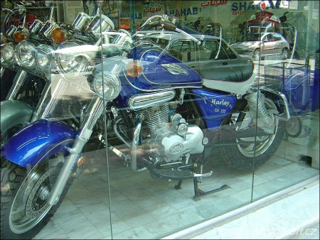 Harley made in Iran