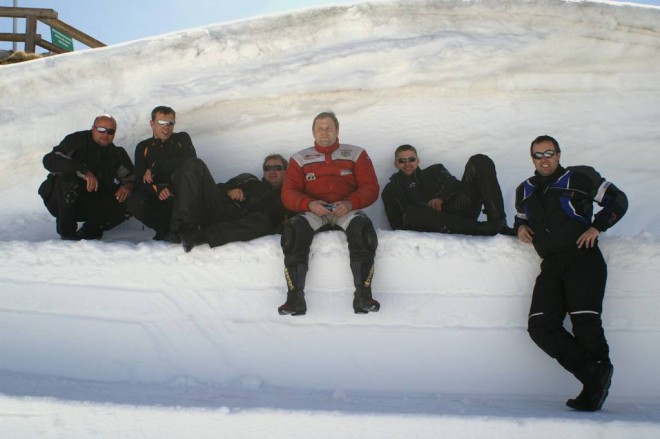 Budweisers on the SNOW, neboli Gesperrt Passe Tour 2009