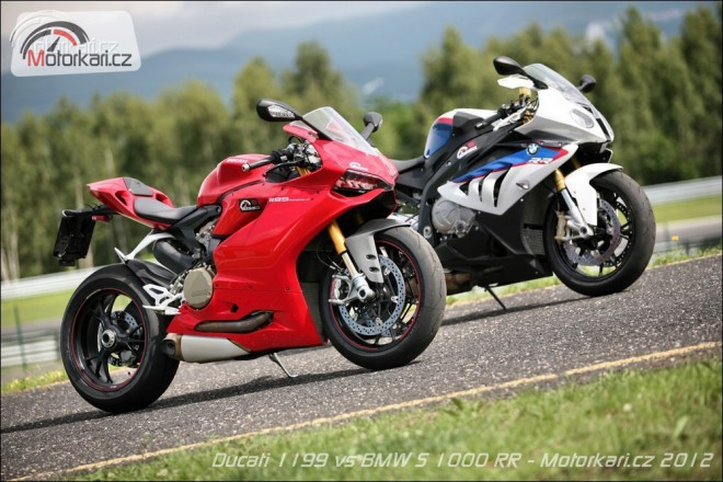 Ducati 1199 Panigale S & BMW S 1000 RR