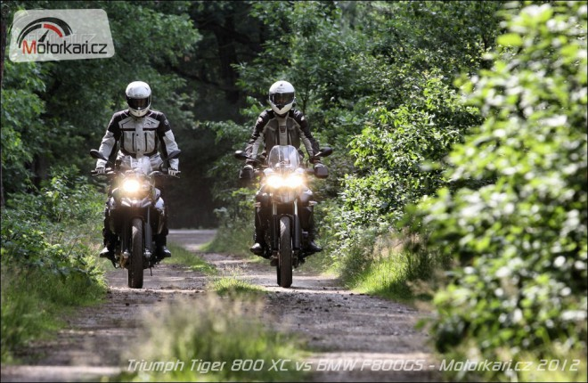 Triumph Tiger 800 XC vs BMW F800 GS