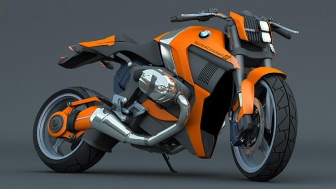 BMW R1200 Supercharger Concept