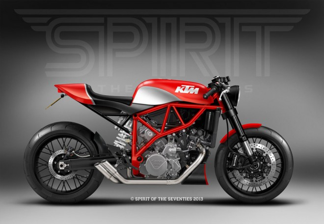 KTM LC8 special Racer od Spirit of the Seventies