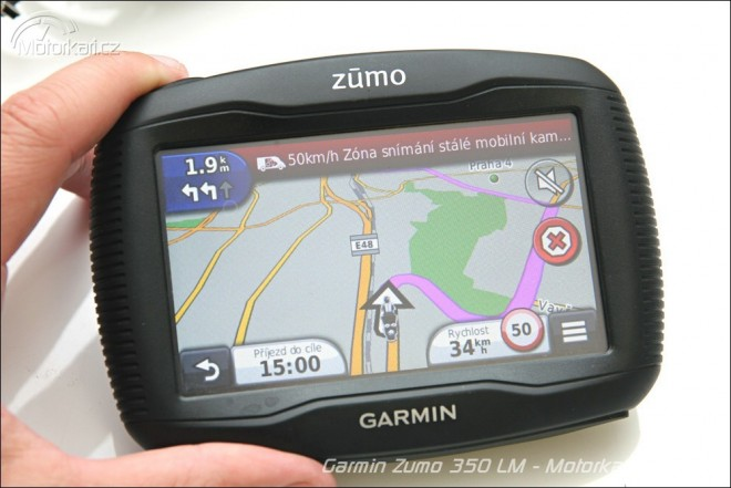 Garmin Zumo 350 Europe Lifetime
