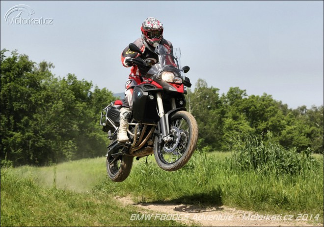 BMW F800GS Adventure - Cestou, necestou