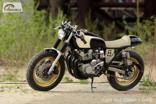 Eight Ball: Yamaha XJ 400 Cafe Racer