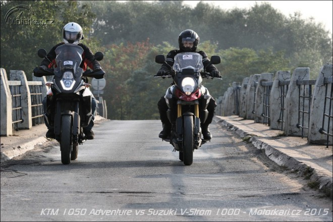 KTM 1050 Adventure vs Suzuki V-Strom 1000