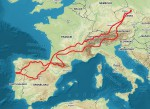 Roadtrip Europa