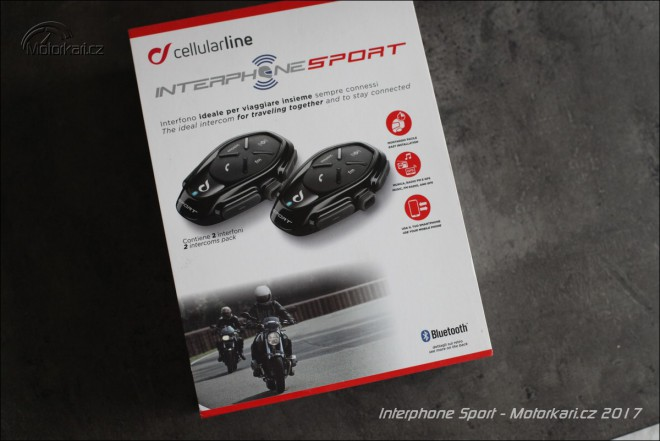 Recenze Interphone Sport Twinpack