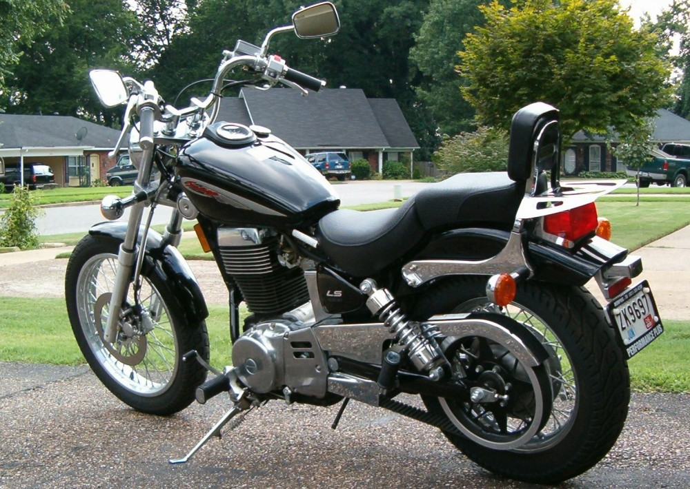 Savageltrr C   Resize X on 2000 suzuki savage 650