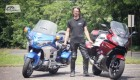 Honda GL 1800 Goldwing vs BMW K1600GT