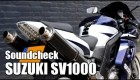Suzuki SV1000 S | Sound check (engine sound only)