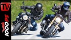 BMW R nineT vs Moto Guzzi griso 1200 8V Black Devil