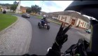 Funny moments Yamaha Raptor 700 & KTM SMC 690 Supermoto