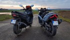 Kymco AK 550 vs Kymco Xciting 400