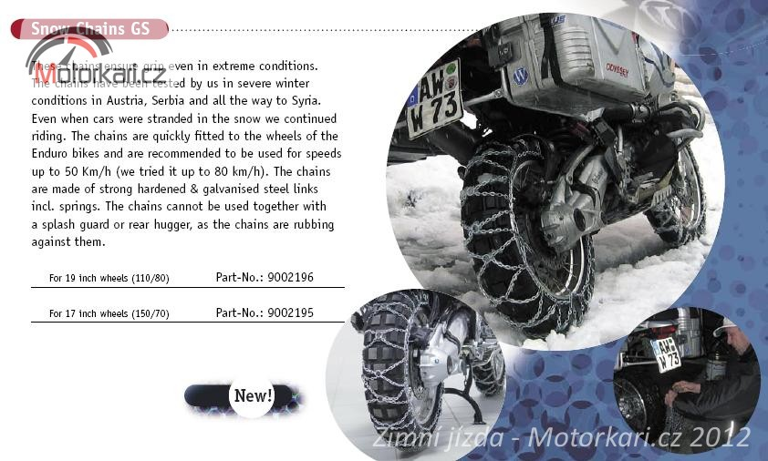 fa28e05c198 Zvláštností jsou pak sněhové řetězy pro motorky. Zní to jak velmi zvrhlá  fantazie