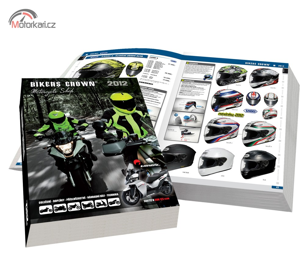 Katalog Bikers Crown 2012 již v prodeji  b98a35c683