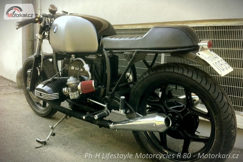 Italský Café Racer Bmw R 80 Motorkářicz
