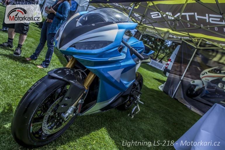 """Produkční LS-218 disponuje elektromotorem o výkonu přes 200 koní a točivým  momentem 228 Nm (pro srovnání - Ducati 1199 Superleggera má krouťák """"jen""""  134 Nm) ... b0e4d877c8"""